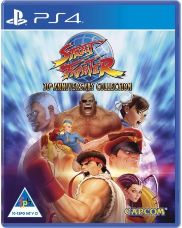 Street Fighter 30th Anniversary Edition Ps4 NAUJAS