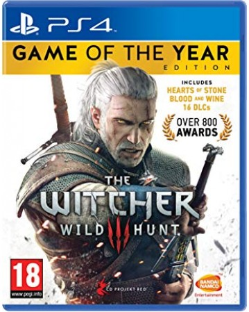 The Witcher Wild Hunt GOTY Edition Ps4 NAUDOTAS
