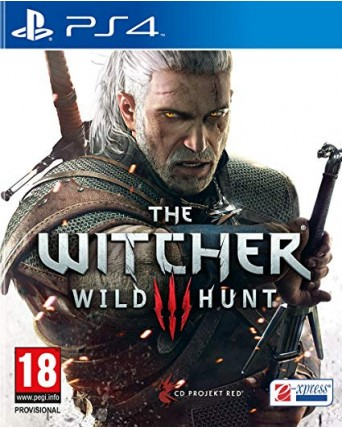 The Witcher Wild Hunt Ps4 NAUDOTAS