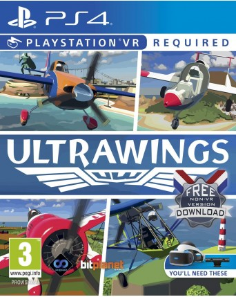 Ultrawings Ps4 VR NAUJAS