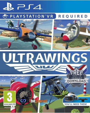 Ultrawings Ps4 VR NAUJAS