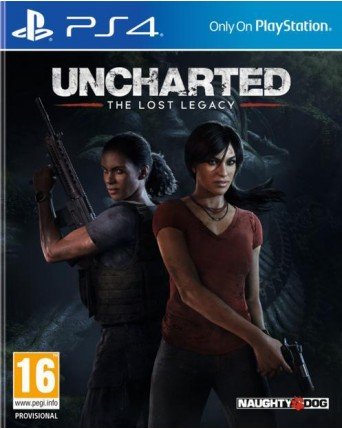 Uncharted The Lost Legacy Ps4 NAUDOTAS