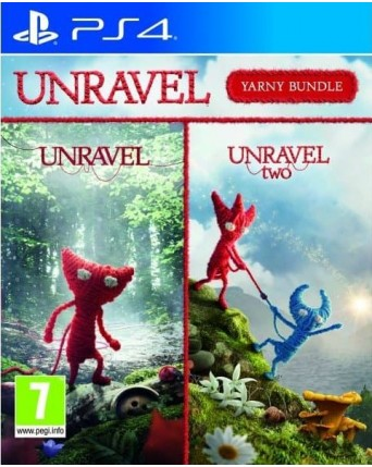 Unravel Yarny Bundle Ps4 NAUJAS