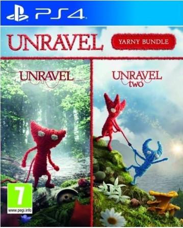 Unravel Yarny Bundle Ps4 NAUJAS
