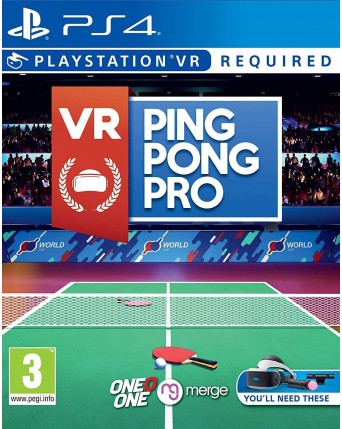Vr Ping Pong Pro NAUJAS
