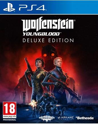 Wolfenstein Youngblood Deluxe Edition Ps4 NAUJAS IŠLEIDIMAS 07.26