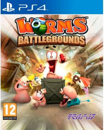 Worms Battlegrounds Ps4 NAUDOTAS