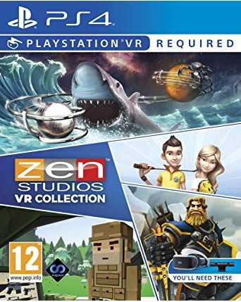 Zen Studios VR Collection Ps4 VR NAUJAS