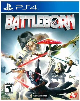 Battleborn Ps4 NAUDOTAS