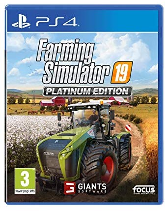 Farming Simulator 19 Platinum Ediotion Ps4 NAUJAS