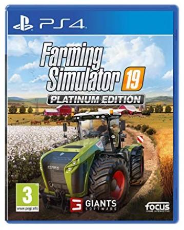 Farming Simulator 19 Platinum Edition Ps4 NAUJAS