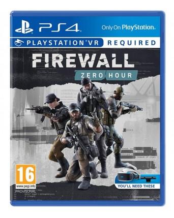 firewall zero hour ps vr ps4 Naudotas