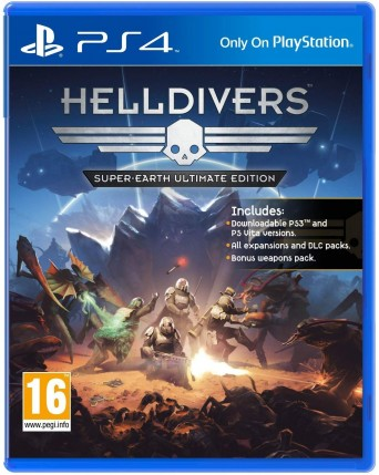 helldivers super-earth ultimate edition ps4 naudotas