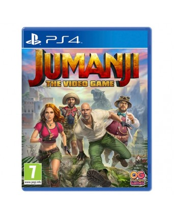 Jumanji the video game ps4 naujas