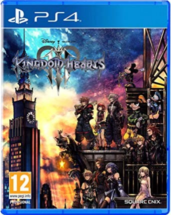 Kingdom Hearts III Ps4 NAUJAS