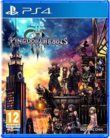 Kingdom Hearts III Ps4 NAUJAS