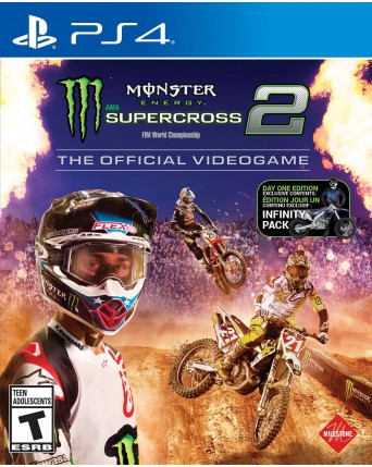 Monster Energy Supercross 2 Ps4 NAUJAS