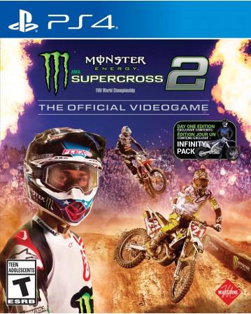 Monster Energy Supercross 2 Ps4 NAUJAS