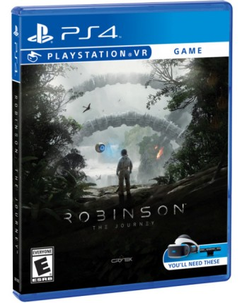 robinson the journey PS VR Ps4 NAUDOTAS
