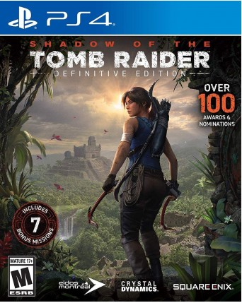 Shadow Of Tomb Raider Definitive Edition PS4 NAUJAS