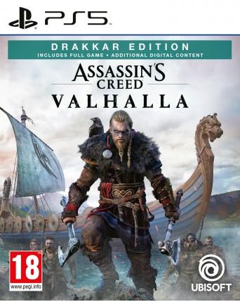 Assassins Creed Valhalla Drakar Edition Ps5 NAUJAS