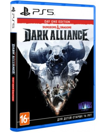 DUNGEONS & DRAGONS: DARK ALLIANCE DAY ONE EDITION PS5 NAUDOTAS