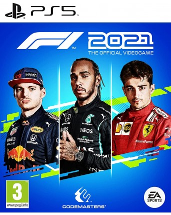 F1 2021 THE OFFICIAL VIDEOGAME PS5 NAUJAS