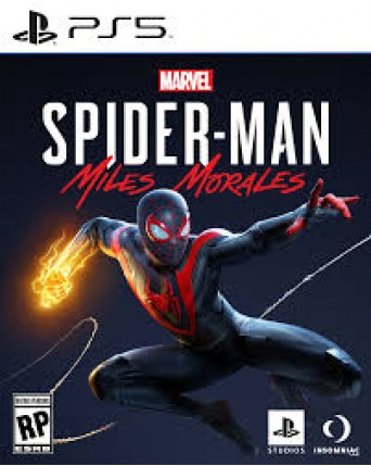 Marvel Spider-Man Miles Morales Ps5 NAUJAS