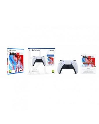 Sony Playstation 5 Duealsense + NBA 2K22 Ps5 NAUJAS