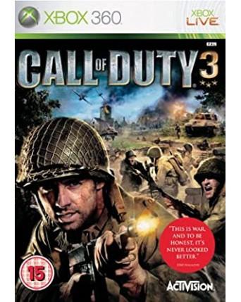 Call of Duty 3 xbox 360 NAUDOTAS