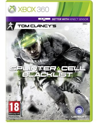 Tom Clancys Splinter Cell Blacklist xbox 360 NAUDOTAS