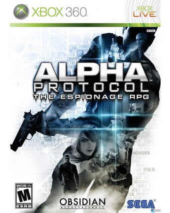 Alpha Protocol The Espionage RPG Xbox 360 NAUDOTAS