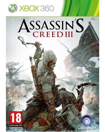 Assassins Creed III Xbox 360 NAUDOTAS