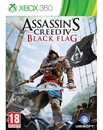 Assassins Creed IV Black Flag Xbox 360 NAUDOTAS