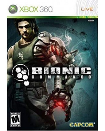Bionic Commando Xbox 360 NAUDOTAS