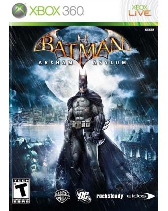 Batman Arkham Asylum Xbox 360 NAUDOTAS
