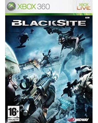 Blacksite Xbox 360 NAUDOTAS