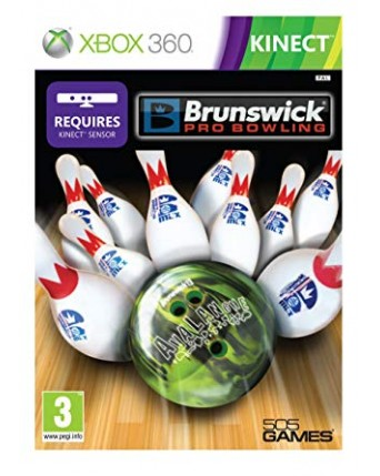 Brunswick Pro Bowling Xbox 360 NAUDOTAS