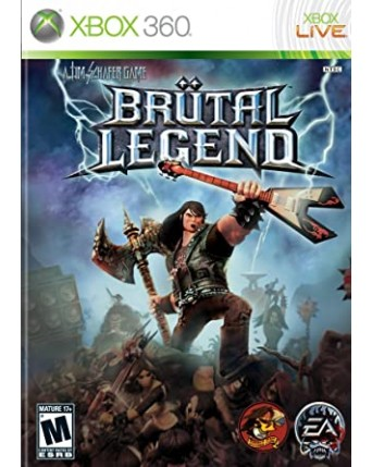 Brutal Legend Xbox 360 NAUDOTAS