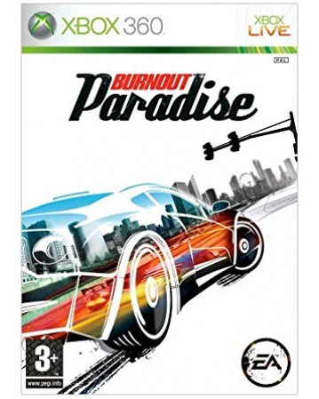 Burnout Paradise Xbox 360 NAUDOTAS