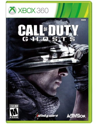 Call Of Duty Ghost Xbox 360 NAUDOTAS