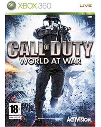 Call Of Duty World At War Xbox 360 NAUDOTAS