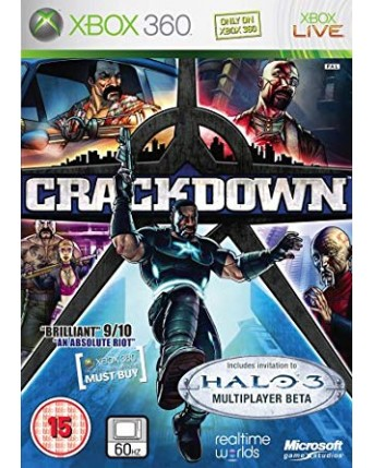 Crackdown Xbox 360 NAUDOTAS