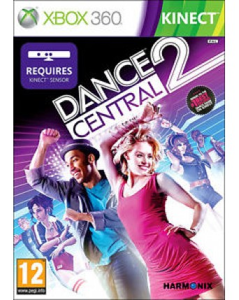 Dance Central 2 Xbox 360 NAUDOTAS