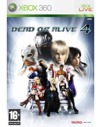 Dead Or Alive 4 Xbox 360 NAUDOTAS