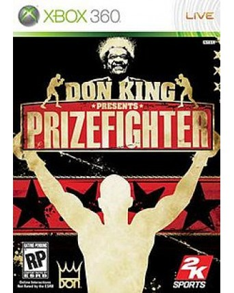 Don King Prizefighter Xbox 360 NAUDOTAS