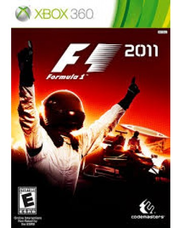 F1 2011 Xbox 360 NAUDOTAS