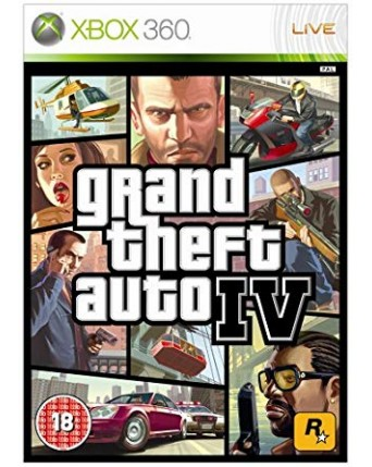 Grand Theft Auto IV  Xbox 360 NAUDOTAS
