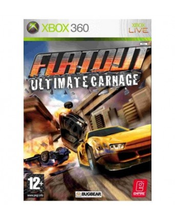 flatout ultimate carnage xbox 360 NAUDOTAS