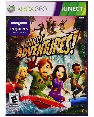 Kinect Adventures Xbox 360 NAUDOTAS